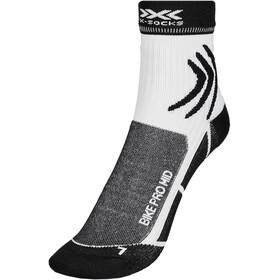 X-Socks Bike Pro Calze, bianco/nero